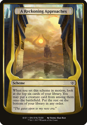 A Reckoning Approaches - Archenemy: Nicol Bolas