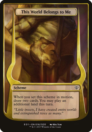 This World Belongs to Me - Archenemy: Nicol Bolas