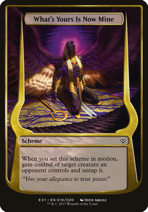 What's Yours Is Now Mine - Archenemy: Nicol Bolas
