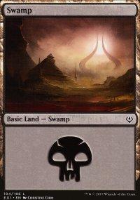 Swamp 2 - Archenemy: Nicol Bolas decks