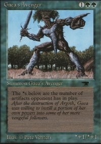 Gaea's Avenger - Antiquities