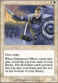 Enlistment Officer - Apocalypse