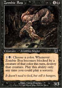 Zombie Boa - Apocalypse