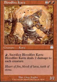 Bloodfire Kavu - Apocalypse