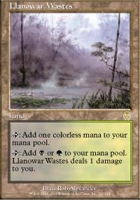 Llanowar Wastes - Apocalypse