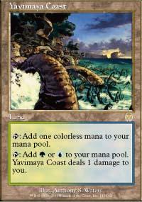 Yavimaya Coast - Apocalypse