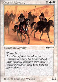 Moorish Cavalry - Arabian Nights
