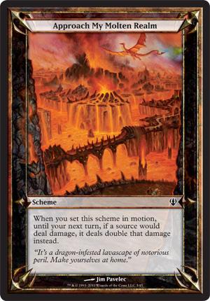 Approach My Molten Realm - Archenemy - schemes
