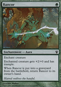 Rancor - Archenemy - decks