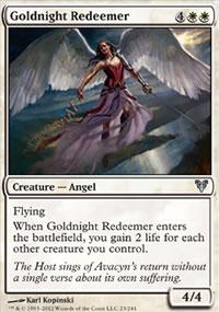 Goldnight Redeemer - Avacyn Restored