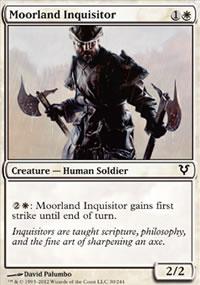 Moorland Inquisitor - Avacyn Restored