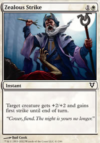 Zealous Strike - Avacyn Restored