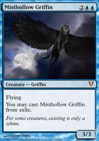 Misthollow Griffin - Avacyn Restored