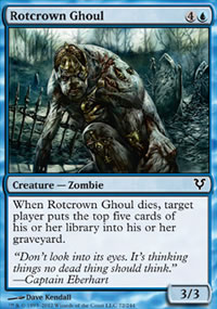 Rotcrown Ghoul - Avacyn Restored
