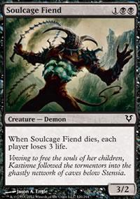 Soulcage Fiend - Avacyn Restored