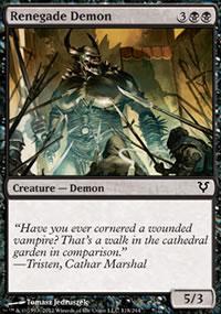 Renegade Demon - Avacyn Restored