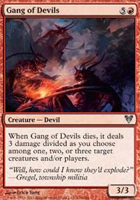 Gang of Devils - Avacyn Restored