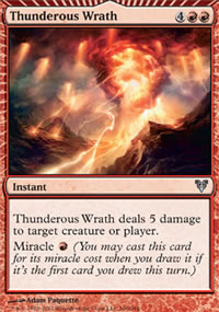 Thunderous Wrath - Avacyn Restored