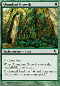 Abundant Growth - Avacyn Restored