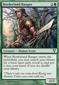 Borderland Ranger - Avacyn Restored