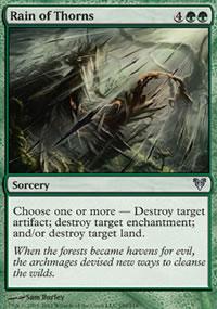 Rain of Thorns - Avacyn Restored