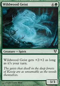 Wildwood Geist - Avacyn Restored