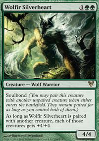 Wolfir Silverheart - Avacyn Restored