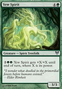 Yew Spirit - Avacyn Restored