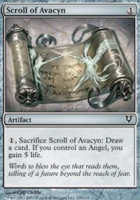 Scroll of Avacyn - Avacyn Restored