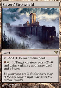 Slayers' Stronghold - Avacyn Restored