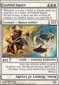 Faithful Squire - Betrayers of Kamigawa