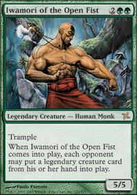 Iwamori of the Open Fist - Betrayers of Kamigawa