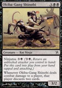 Okiba-Gang Shinobi - Betrayers of Kamigawa