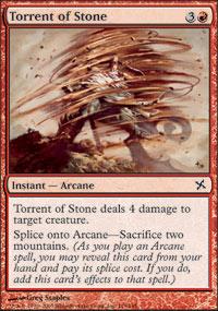 Torrent of Stone - Betrayers of Kamigawa