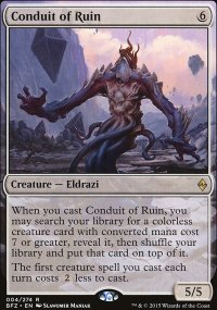 Conduit of Ruin - Battle for Zendikar