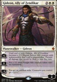 Gideon, Ally of Zendikar - Battle for Zendikar