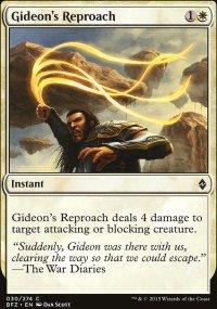 Gideon's Reproach - Battle for Zendikar