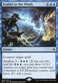 Scatter to the Winds - Battle for Zendikar