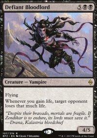 Defiant Bloodlord - Battle for Zendikar