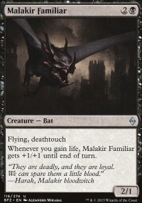 Malakir Familiar - Battle for Zendikar