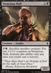 Voracious Null - Battle for Zendikar