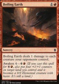 Boiling Earth - Battle for Zendikar