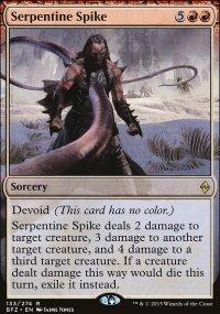 Serpentine Spike - Battle for Zendikar
