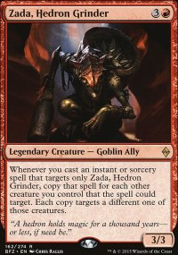 Zada, Hedron Grinder - Battle for Zendikar