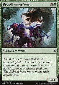 Broodhunter Wurm - Battle for Zendikar