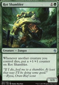 Rot Shambler - Battle for Zendikar