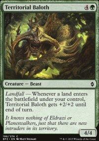 Territorial Baloth - Battle for Zendikar