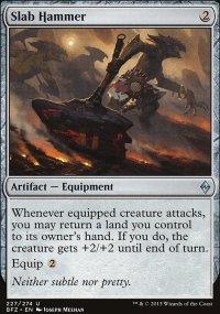 Slab Hammer - Battle for Zendikar