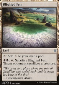 Blighted Fen - Battle for Zendikar