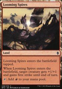 Looming Spires - Battle for Zendikar